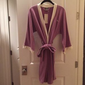NWT Authentic Lacoste Lilac Robe-One Size Fits All